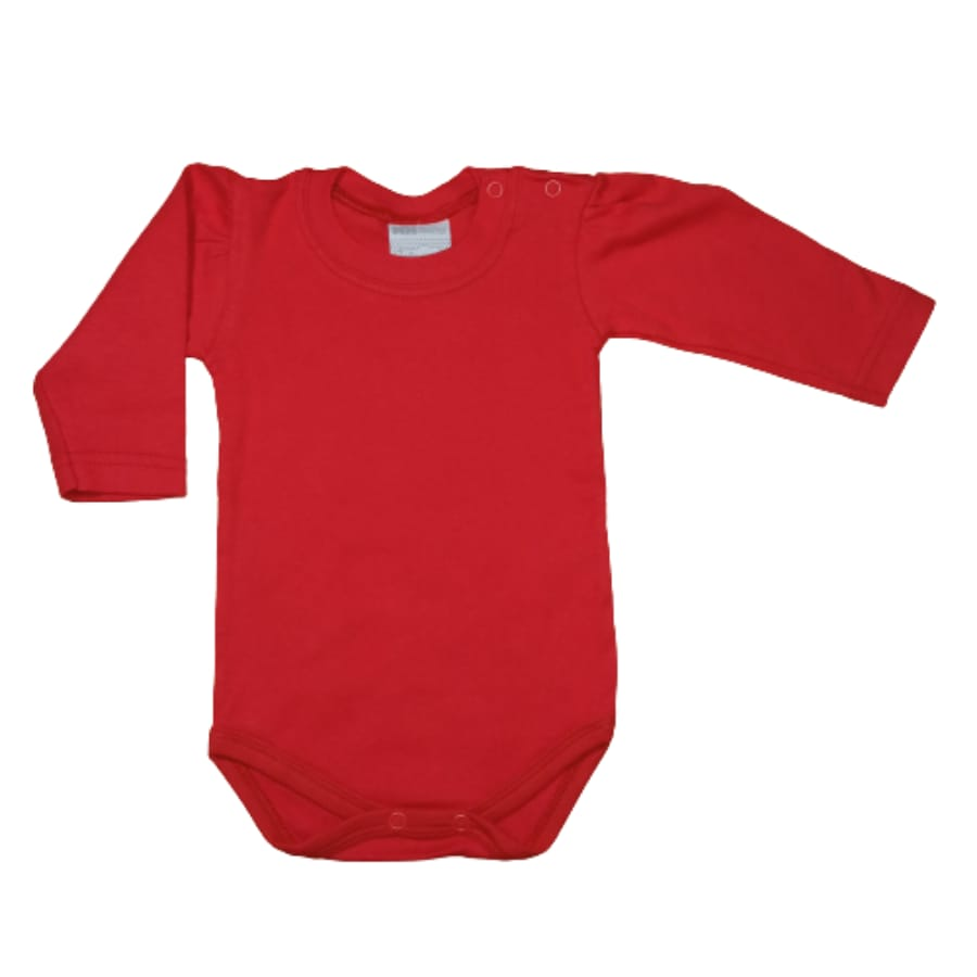 Body para Bebê Manga Longa Bufante Liso