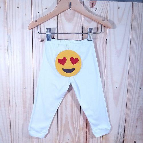 Calça Culote para Bebê Skini Branco