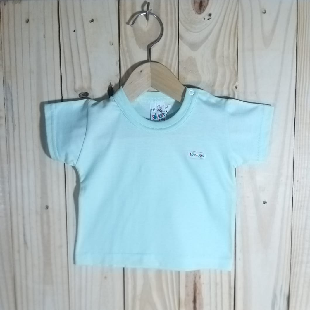 Camiseta em Malha para Bebê