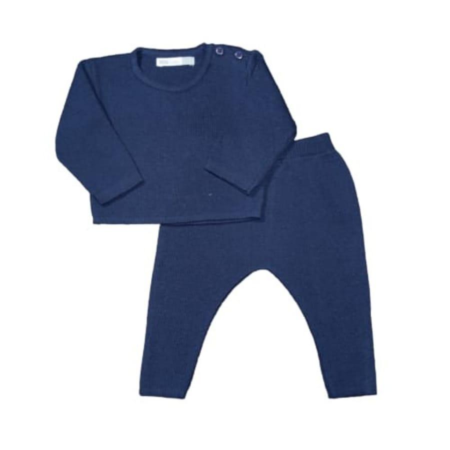 Conjunto para Bebê em Tricot Basic