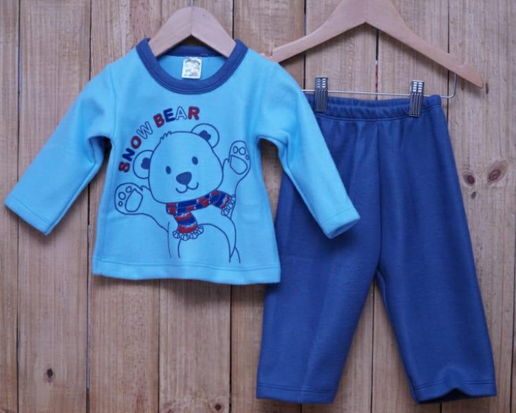 Conjunto para Bebê Soft Urso