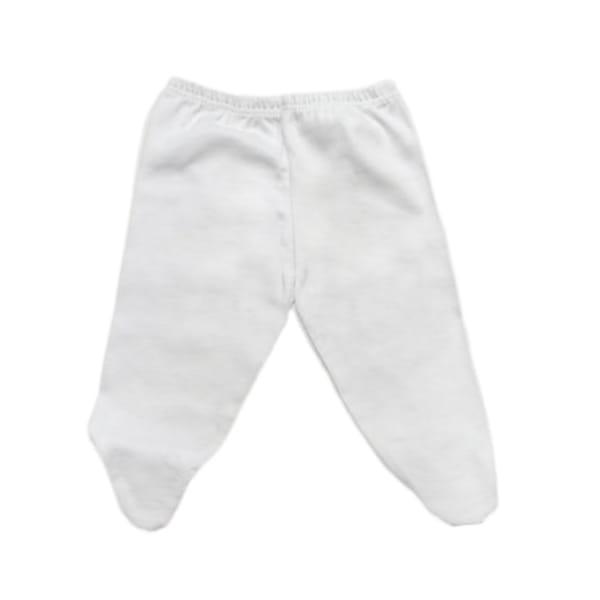 Culote para Bebê em Malha Branco