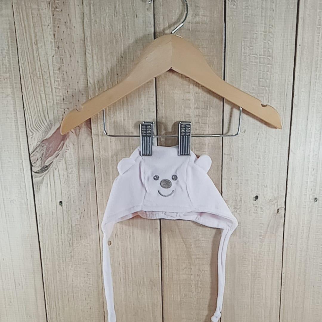 Gorro para Bebê  Plush Ursinho  Bege