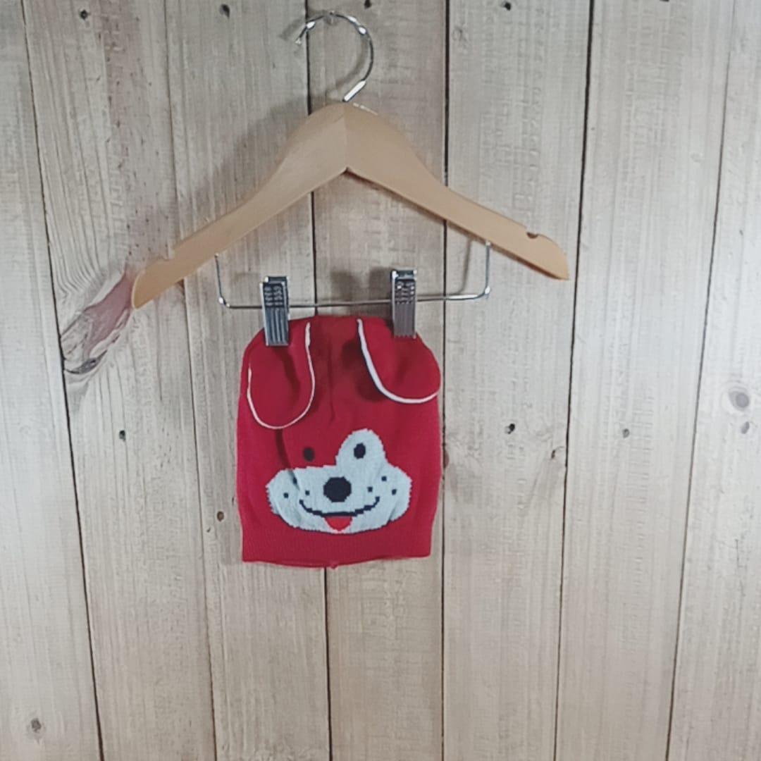 Gorro Cachorrinho Vermelho