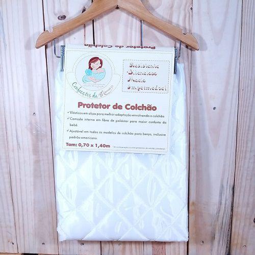 Protetor de Colchão para Berço do Bebê.