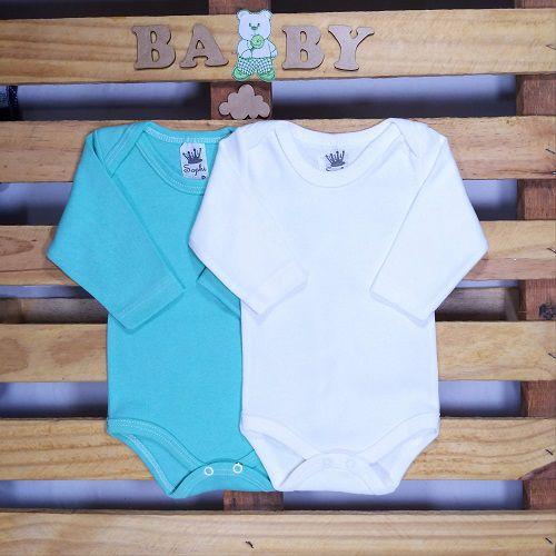Kit duas peças de Body para Bebê