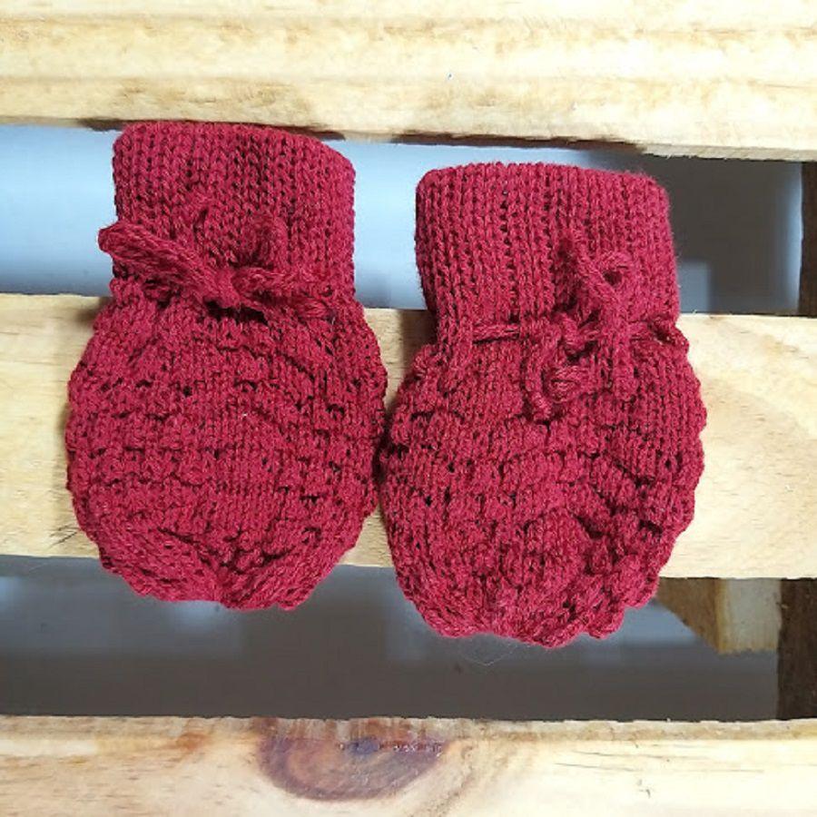 Luva para Bebê em tricot