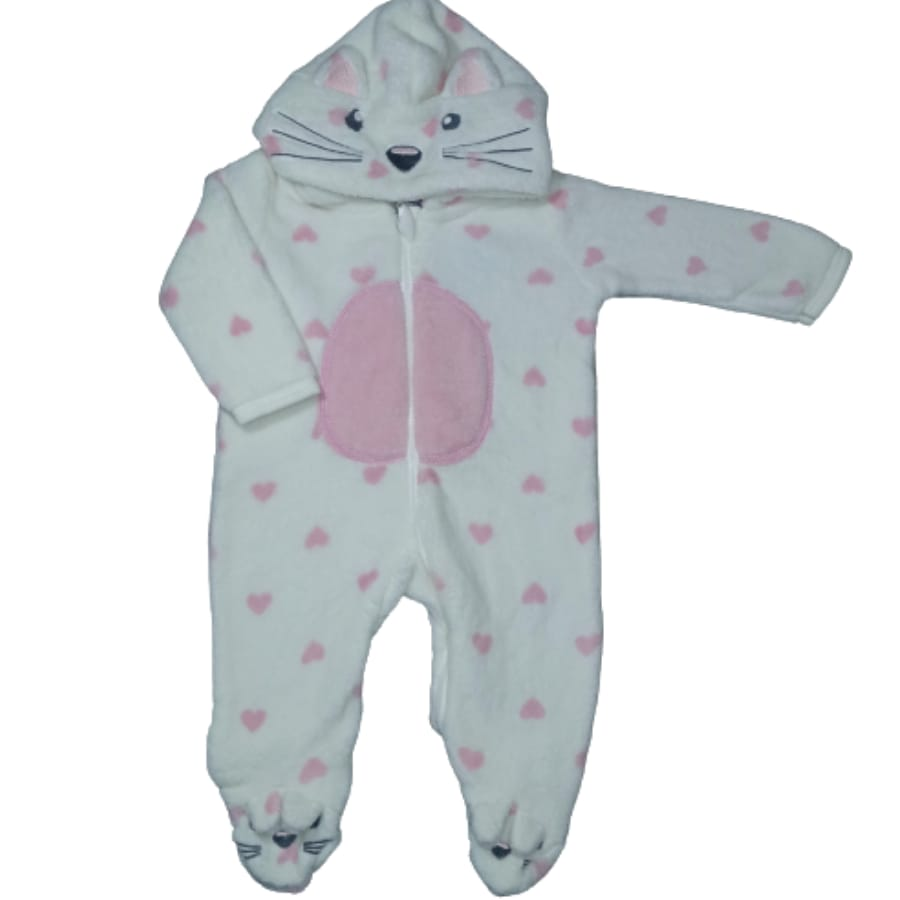 Macacão para Bebê Gatinha