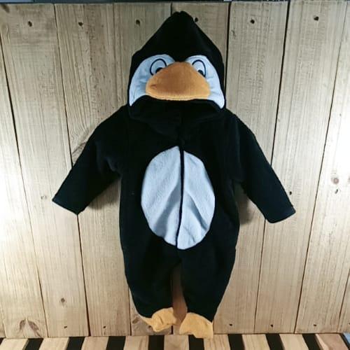 Macacão com Capuz  para Bebê Pinguim