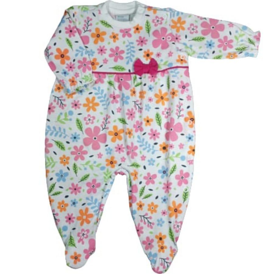 Macacão para Bebê Floral