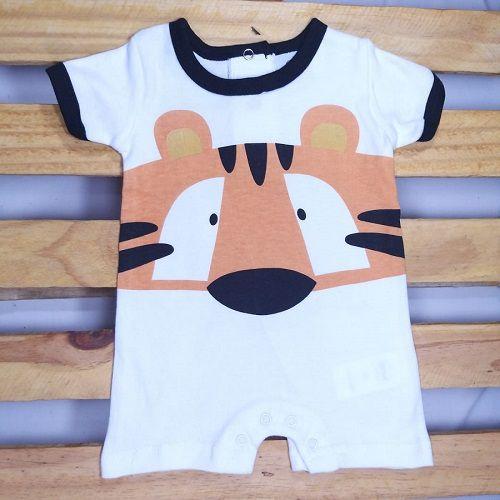 Macacão para Bebê Curto em Malha