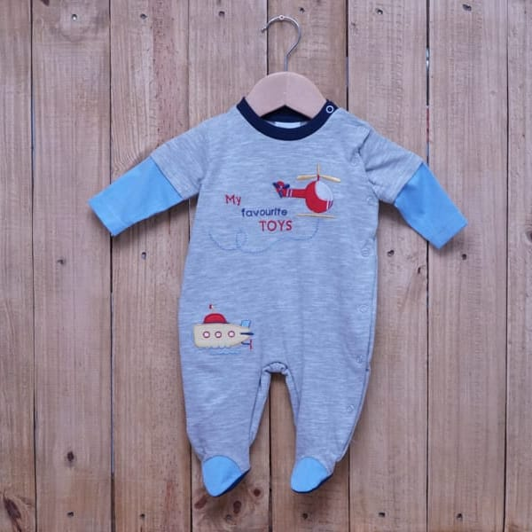 Macacão para Bebê em Malha 100% Algodão