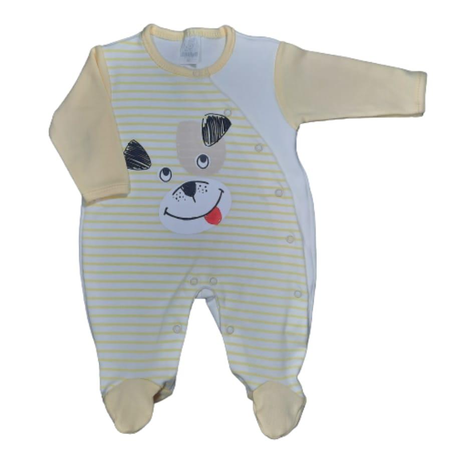 Macacão para Bebê Estampado é Listrado
