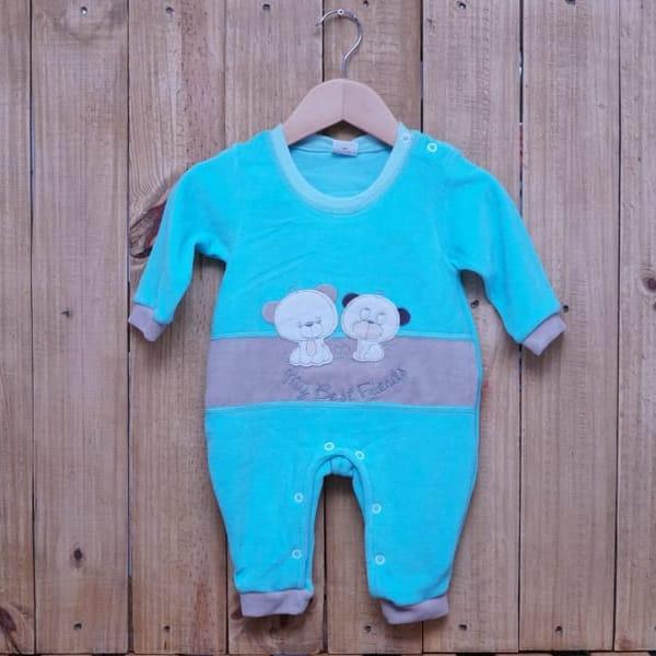 Macacão para Bebê Plush com Bordado Friends Tiffany