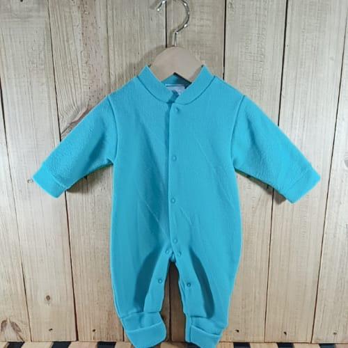 Macacão para Bebê  Soft com Pé Reversível Verdinho
