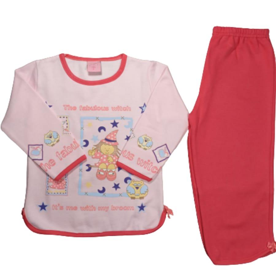 Pijama Infantil Flanelado Estampado