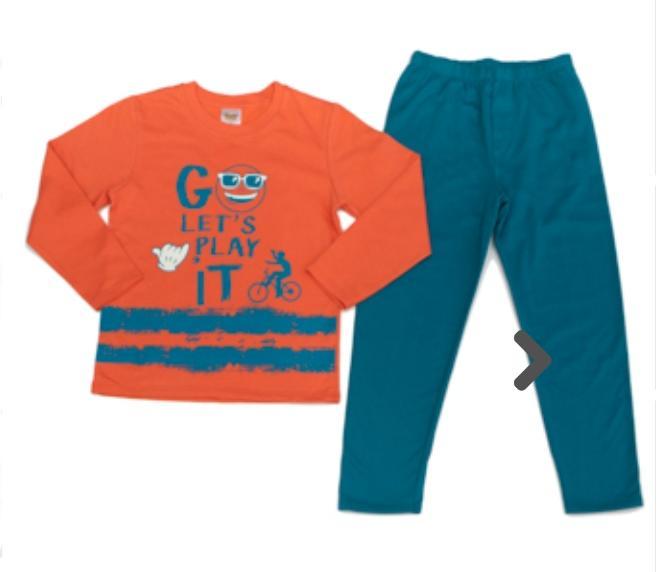 Pijama Infantil Masculino Brilha no Escuro