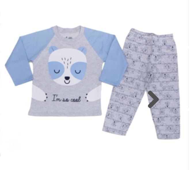 Pijama Infantil Masculino com Estampa
