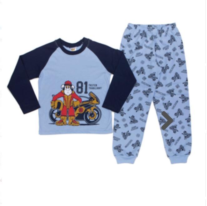Pijama Infantil Masculino  Estampado