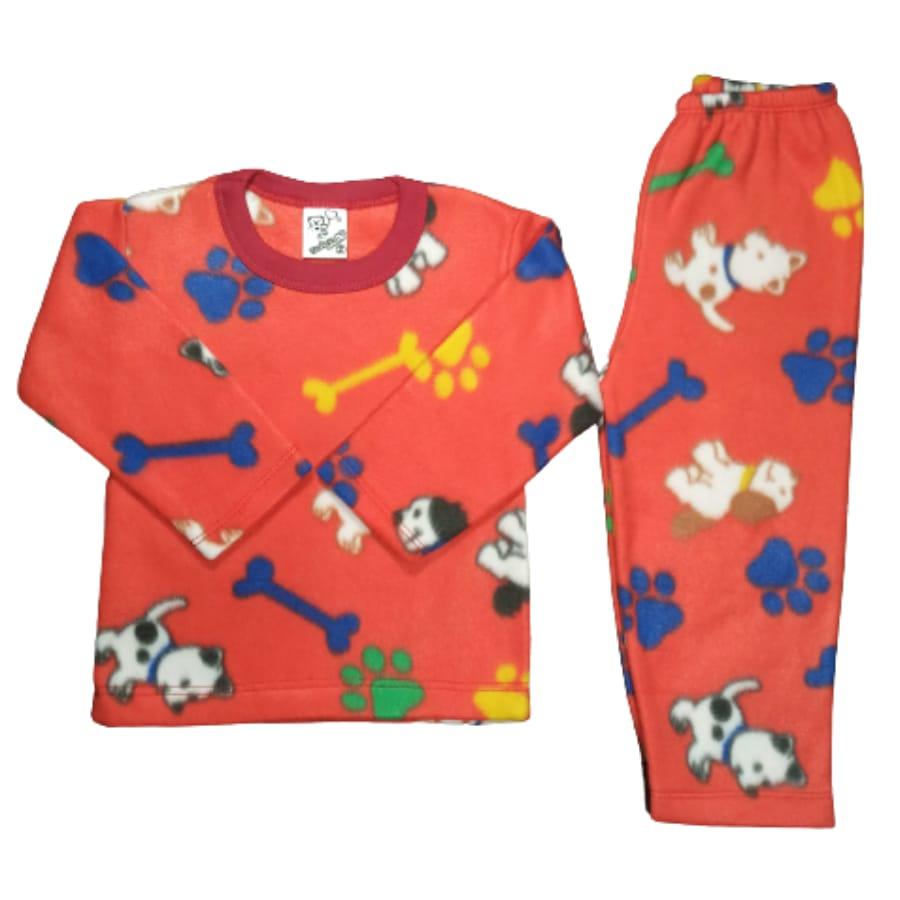Pijama Infantil Soft Estampado Cachorrinhos