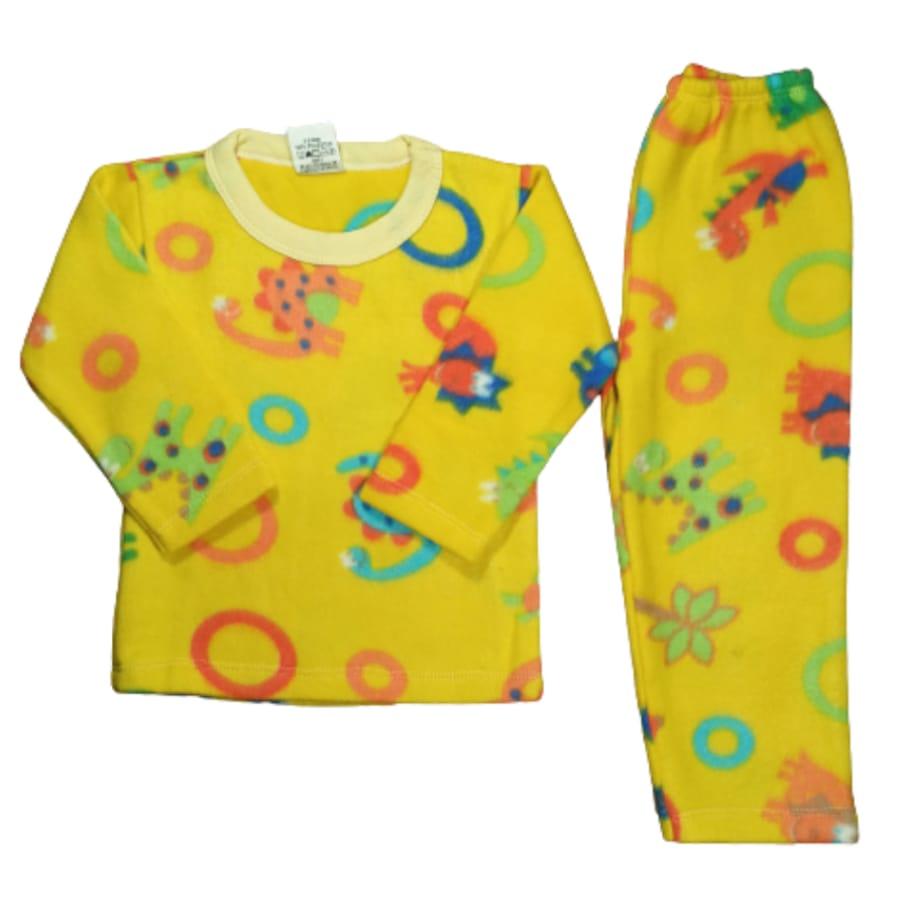 Pijama Infantil Soft Estampado Dinossauros