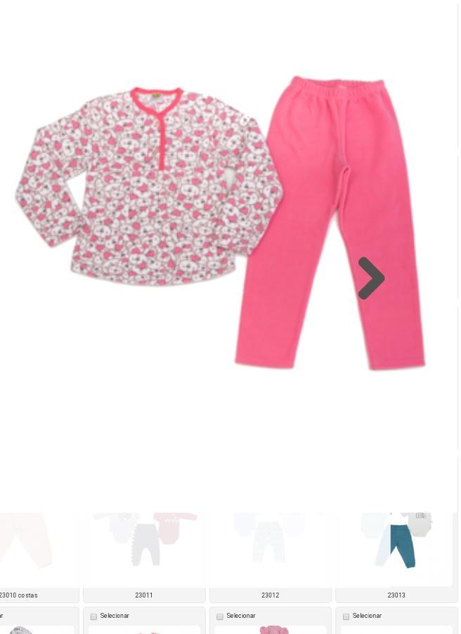 Pijama Soft  Infantil  Feminino Ursa