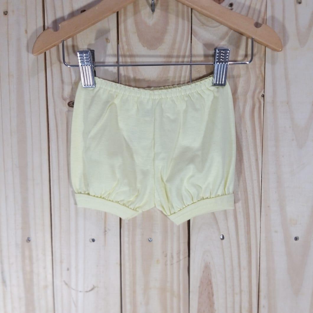 Porta Fralda em Malha  para Bebê  Amarelo
