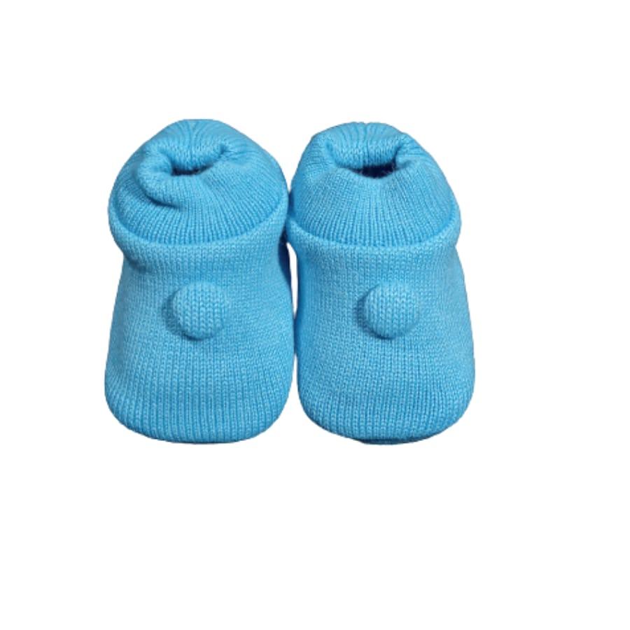 Sapatinho Tricot para Bebê