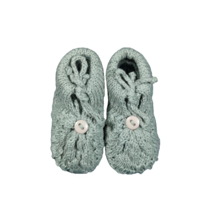 Sapato para Bebê em Tricot