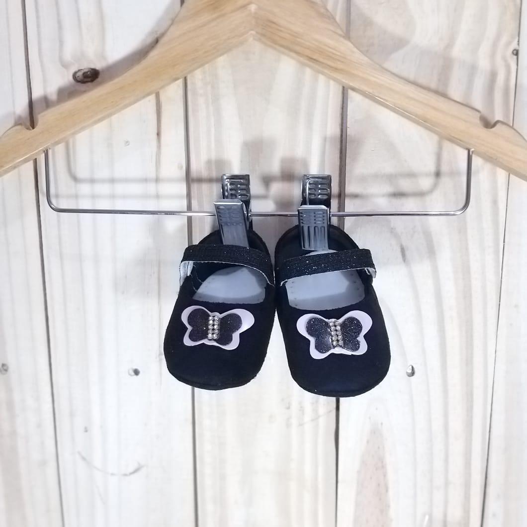 Sapato para Bebê menina Black
