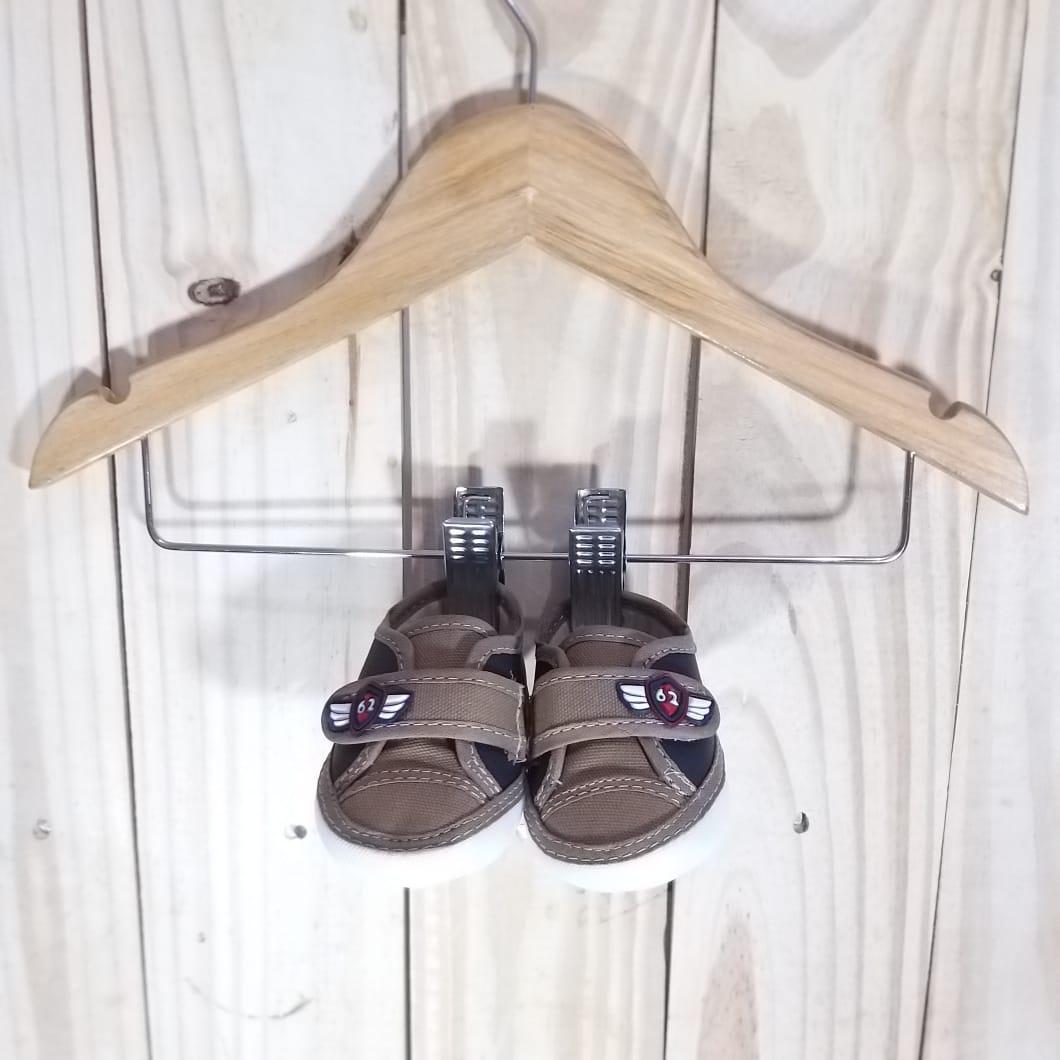 Sapato para Bebê Menino Marrom
