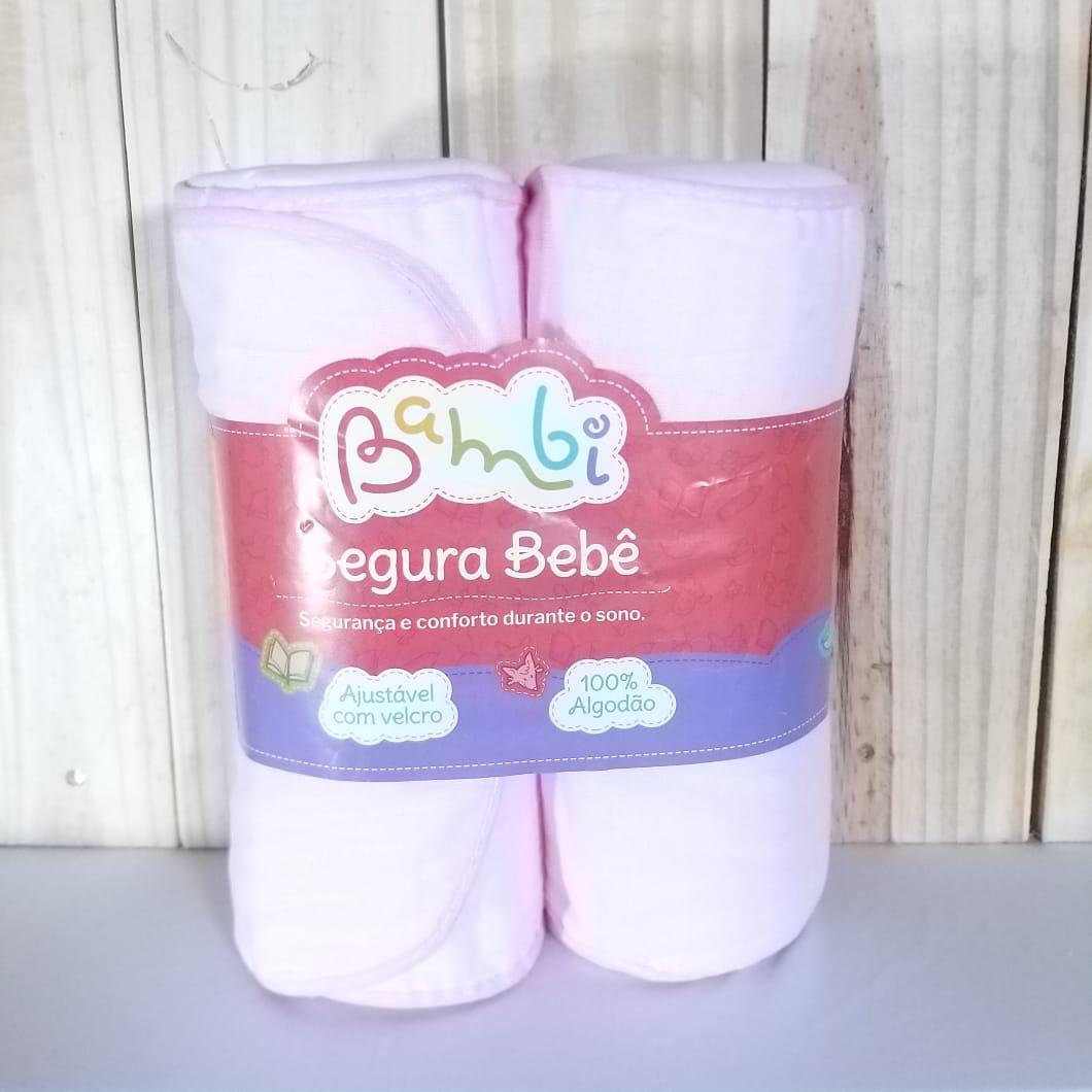 Segura Bebê Tecido Liso Rosa