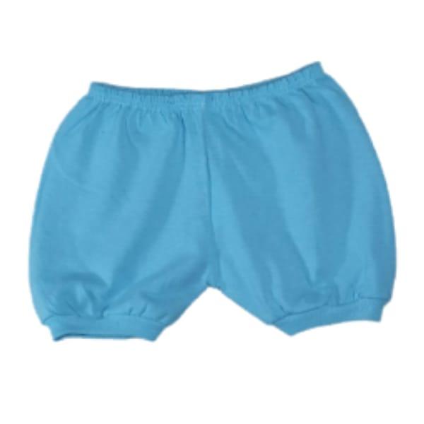 Shorts em Malha para Bebê 100% Algodão