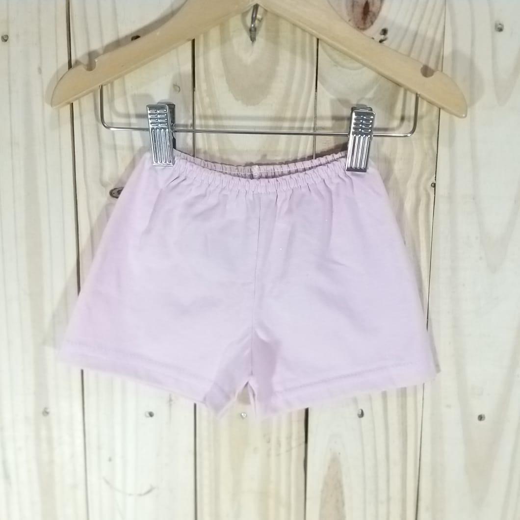 Shorts em Malha para Bebê  Rosa