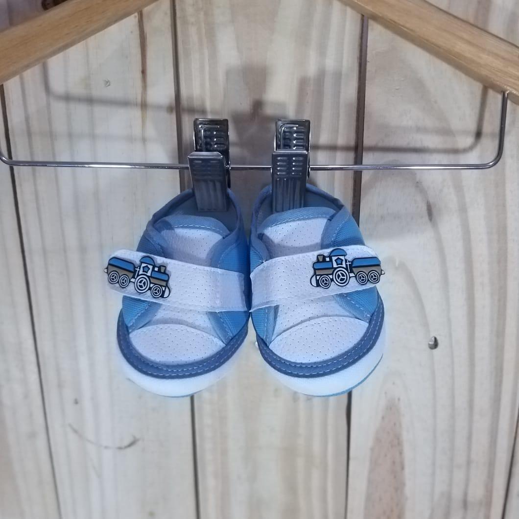 Tênis para Bebê Menino Azul