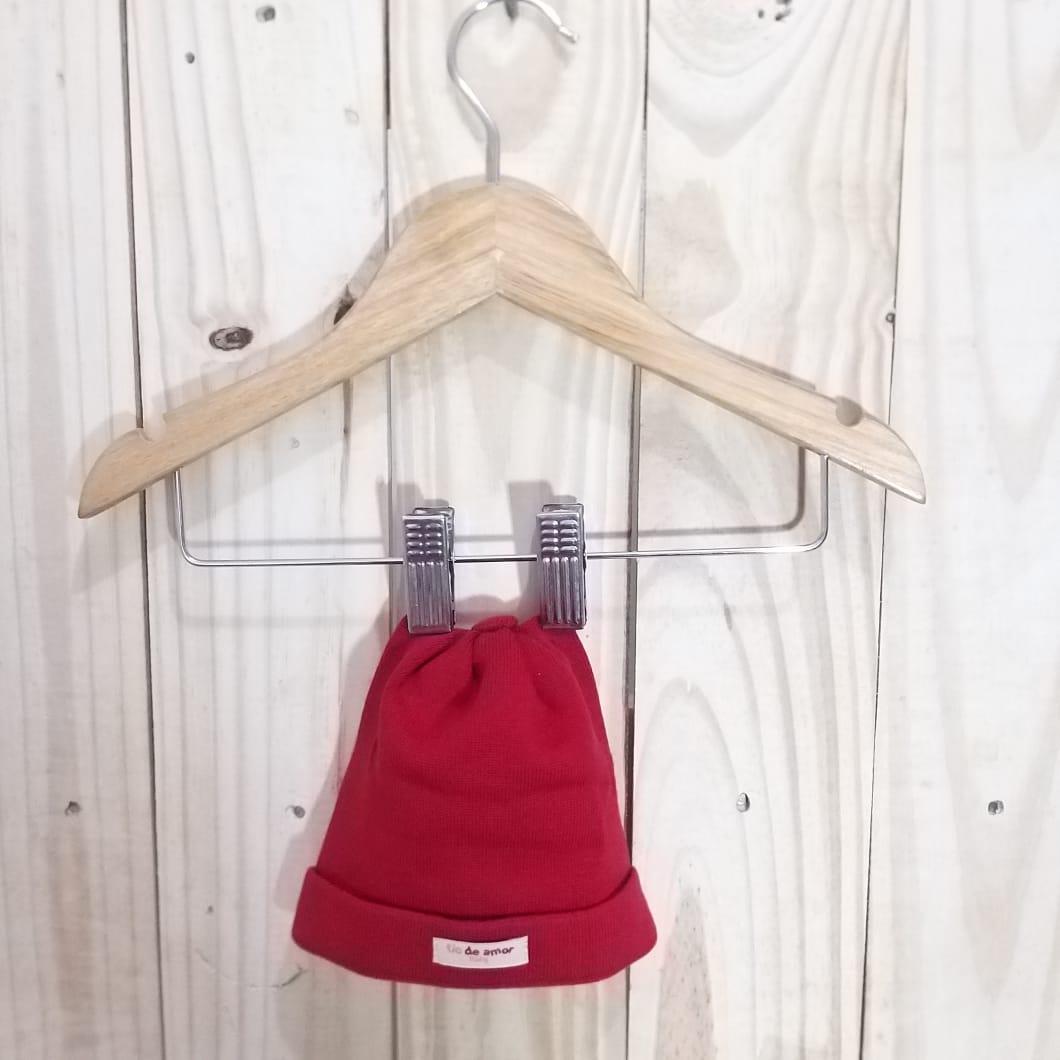 Touca para Bebê Vermelho