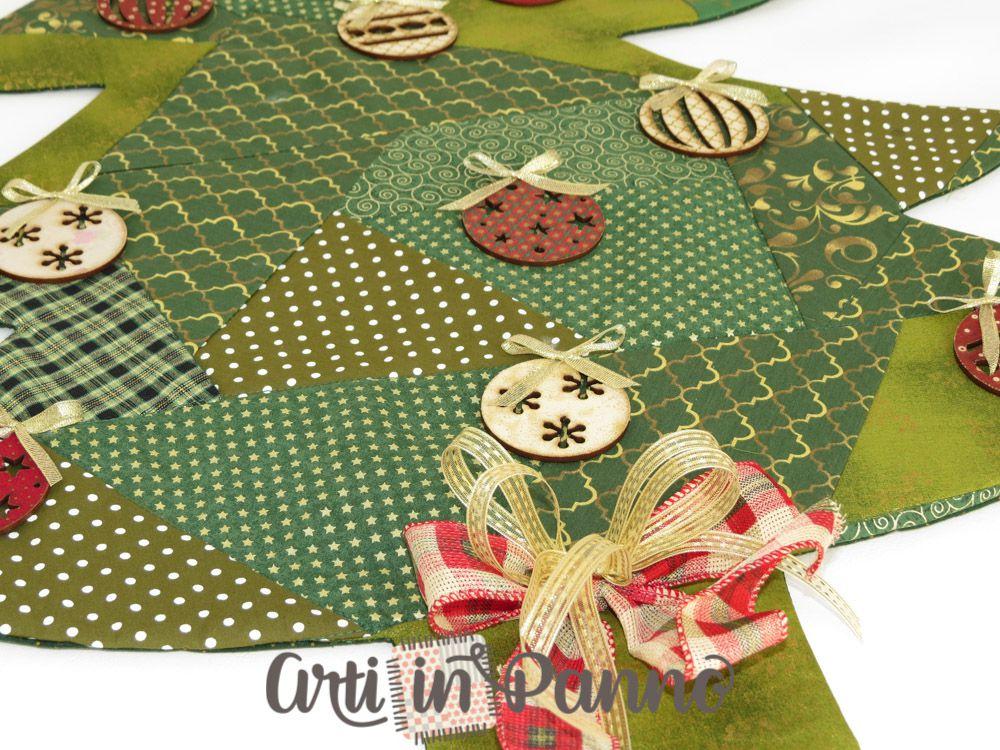 Árvore de Natal em tecido