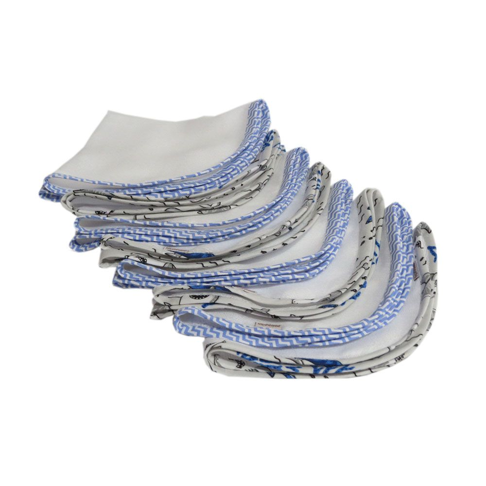 Fralda de ombro e boca kit12