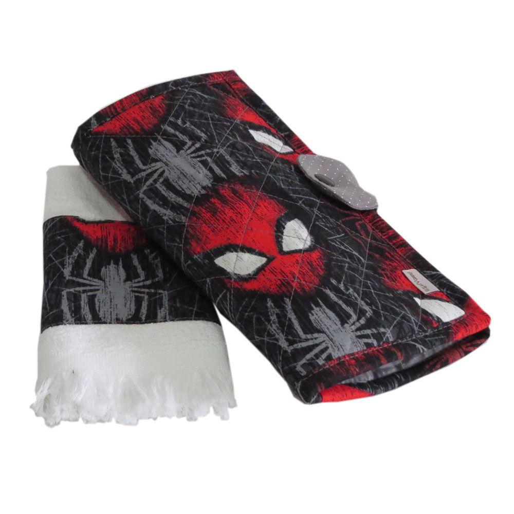 Necessaire higiene Homem Aranha