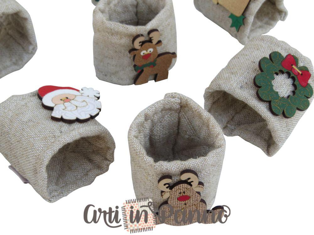 Porta guardanapo de Natal