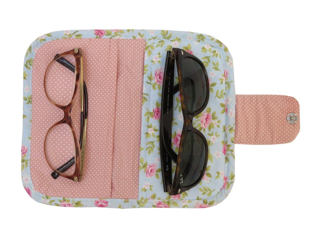 Porta óculos duplo