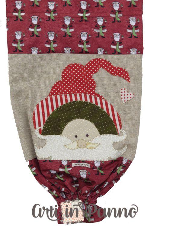 Puxa saco bordado Natal