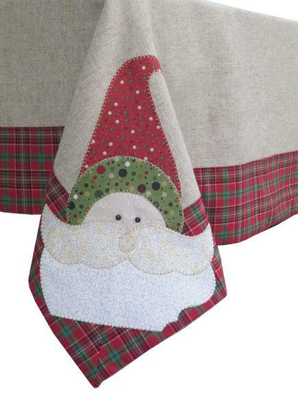 Toalha em linho Natal