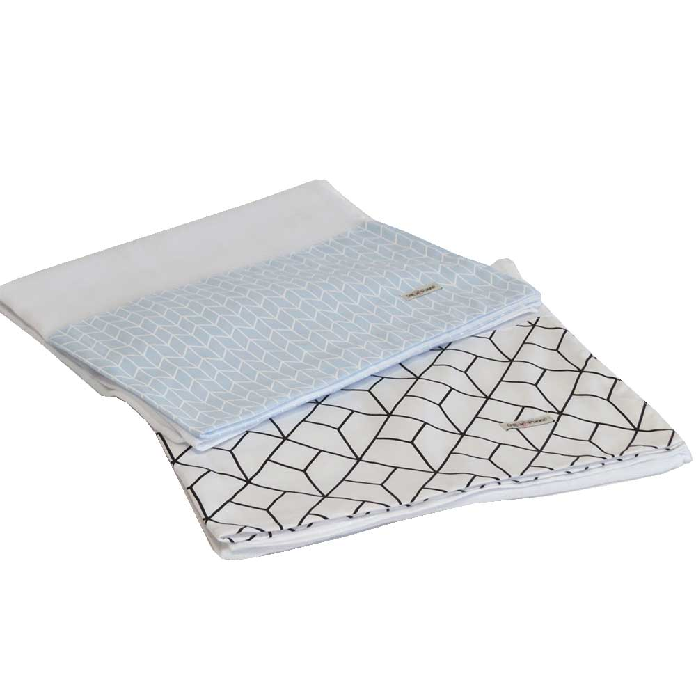 Toalha fralda banho kit