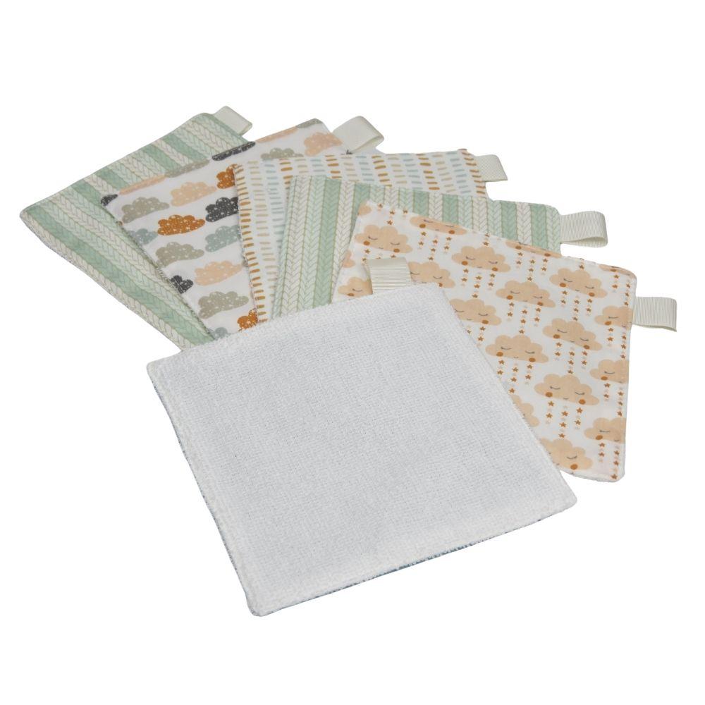 Toalha higiene kit6 tons pasteis