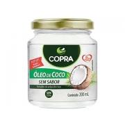 OLEO DE COCO (COPRA) SEM SABOR 200ML