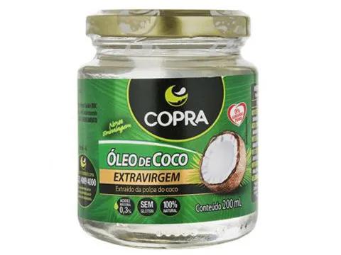 ÓLEO DE COCO (COPRA) 200ML  - Grão Divino