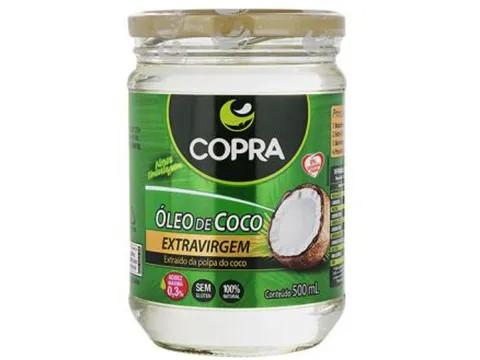 ÓLEO DE COCO (COPRA) 500ML  - Grão Divino