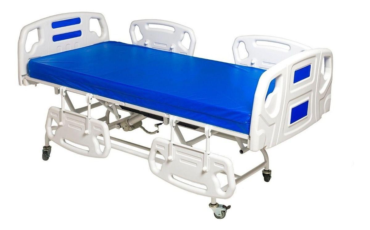 Cama Hospitalar Fawler Automática com Elevação de Cabeça e Pés MR434 Renovar