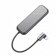 Adaptador HUB Tipo-c Multifuncional Notebook USB 3.0 HDMI 4K e USB Tipo C